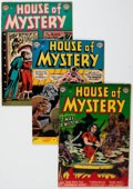Golden Age (1938-1955):Horror, House of Mystery #5, 6, and 13 Group (DC, 1952-53) Condition:Average VG+.... (Total: 3 Items)