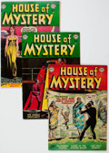 Golden Age (1938-1955):Horror, House of Mystery Group of 10 (DC, 1953-55) Condition: AverageVG+.... (Total: 10 Comic Books)
