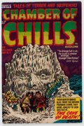 Golden Age (1938-1955):Horror, Chamber of Chills #10 (Harvey, 1952) Condition: FN-....
