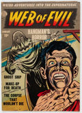 Golden Age (1938-1955):Horror, Web of Evil #2 (Quality, 1952) Condition: VG....