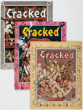 Magazines:Humor, Cracked #1-4 and 9 Group (All-American, 1958-59) Condition: AverageFN+.... (Total: 5 Comic Books)