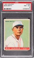 Baseball Cards:Singles (1930-1939), 1933 Goudey Bob Smith #185 PSA NM-MT 8....