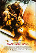 "Movie Posters:War, Black Hawk Down (Sony, 2001). One Sheets (2) (27"" X 40"") DS Advance& Regular. War.. ... (Total: 2 Items)"