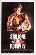 "Movie Posters:Sports, Rocky IV & Other Lot (MGM/UA, 1985). One Sheets (2) (27"" X 39.75"", 27"" X 41"") Advance. Sports.. ... (Total: 2 Items)"