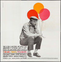 """One, Two, Three (United Artists, 1962). Six Sheet (79"""" X 80.25""""). Comedy"""