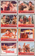 "Movie Posters:War, The Bridge on the River Kwai (Columbia, R-1963). Lobby Card Set of 8 (11"" X 14""). War.. ... (Total: 8 Items)"