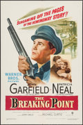 """Movie Posters:Crime, The Breaking Point (Warner Brothers, 1950). One Sheet (27"""" X 41""""). Crime.. ..."""