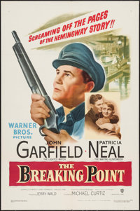 "The Breaking Point (Warner Brothers, 1950). One Sheet (27"" X 41""). Crime"