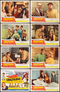 """Movie Posters:Sports, Crazylegs (Republic, 1953). Lobby Card Set of 8 (11"""" X 14""""). Sports.. ... (Total: 8 Items)"""