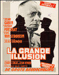 "Movie Posters:Foreign, La Grande Illusion (Filmsonor, R-1963). Belgian (14"" X 18""). Foreign.. ..."