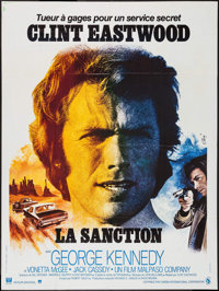 """The Eiger Sanction (Universal, 1975). French Grande (47"""" X 63""""). Action"""
