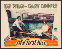 "The First Kiss (Paramount, 1928). Lobby Card (11"" X 14""). Romance"