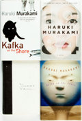 Books:Literature 1900-up, Haruki Murakami. Group of Four Titles. Various publishers, 1993 -2011. . ... (Total: 4 Items)