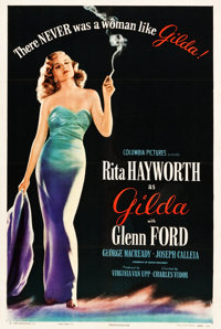 "Gilda (Columbia, 1946). One Sheet (27"" X 41"") Style B"