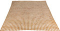 Decorative Arts, French, Paco Rabanne (French, b. 1934). A Bedspread, circa 1965.Leather, metal. 97 x 88 inches (246.4 x 223.5 cm). ...