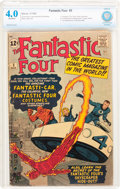 Silver Age (1956-1969):Superhero, Fantastic Four #3 (Marvel, 1962) CBCS VG 4.0 Off-white pages....