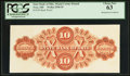 Obsoletes By State:Ohio, Troy, OH- State Bank of Ohio $10 (18__) Back Proof. ...