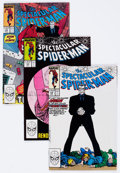 Modern Age (1980-Present):Superhero, Spectacular Spider-Man Box Lot (Marvel, 1988-89) Condition: AverageVF/NM....