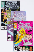 Modern Age (1980-Present):Superhero, Silver Surfer #1-24 Box Lot (Marvel, 1987-89) Condition: AverageVF/NM....