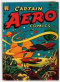 Golden Age (1938-1955):Science Fiction, Captain Aero Comics #26 (Holyoke Publications, 1946) Condition:VG-....
