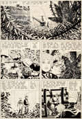 "Original Comic Art:Panel Pages, Alex Toth Four Color #845 ""The Land Unknown"" Page 9 OriginalArt (Dell, 1957). ..."
