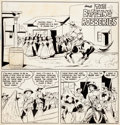 Original Comic Art:Panel Pages, Tom Mix Western #44 Title Page 1 Original Art (Fawcett,1951)....