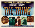 "Movie Posters:Science Fiction, The Thing from Another World (RKO, 1951). Half Sheet (22"" X 28"")Style A.. ..."