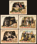 "Movie Posters:Action, The Sea Beast (Warner Brothers, 1926). Lobby Cards (5) (11"" X14"").. ... (Total: 5 Items)"