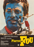 """Movie Posters:Foreign, Pierrot le fou (SNC, 1965). Full-Bleed French Affiche (23.5"""" X 31.5""""). Foreign.. ..."""