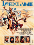 "Movie Posters:Academy Award Winners, Lawrence of Arabia (Columbia, 1962). French Affiche (23"" X 31.5"").Academy Award Winners.. ..."