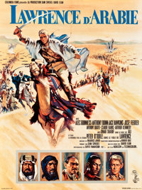 "Lawrence of Arabia (Columbia, 1962). French Affiche (23"" X 31.5""). Academy Award Winners"