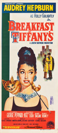 "Movie Posters:Romance, Breakfast at Tiffany's (Paramount, 1961). Australian Daybill (13"" X30"").. ..."