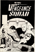 Original Comic Art:Covers, Pete Morisi Vengeance Squad #4 Cover Original Art (Charlton,1976)....
