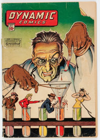 Dynamic Comics #11 (Chesler, 1944) Condition: GD-