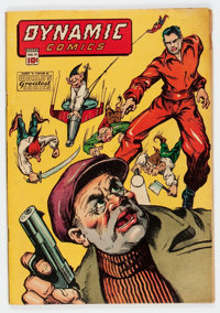 Dynamic Comics #14 (Chesler, 1945) Condition: VG+