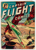 Golden Age (1938-1955):War, Captain Flight Comics #6 (Four Star, 1945) Condition: GD....