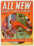 Golden Age (1938-1955):War, All New Comics #2 (Family Comics, 1943) Condition: GD....