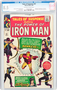 Tales of Suspense #57 (Marvel, 1964) CGC VF+ 8.5 Off-white to white pages