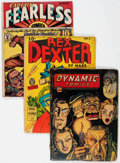Golden Age (1938-1955):Miscellaneous, Golden Age Miscellaneous Reading Copies Group (Various Publishers, 1940s).... (Total: 4 Comic Books)