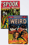 Golden Age (1938-1955):Horror, Star Comics Golden Age Horror Group of 2 (Star Comics, 1950s)Condition: Average VG/FN.... (Total: 2 Comic Books)