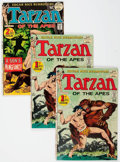 Bronze Age (1970-1979):Adventure, Tarzan #207 and 208 Group of 18 (DC, 1972) Condition: Average NM-.... (Total: 18 Comic Books)