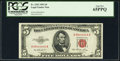 Small Size:Legal Tender Notes, Fr. 1532 $5 1953 Legal Tender Note. PCGS Gem New 65PPQ.. ...
