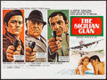 "Movie Posters:Crime, The Sicilian Clan (20th Century Fox, 1970). British Quad (30"" X40""). Crime.. ..."