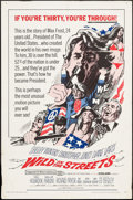 "Movie Posters:Exploitation, Wild in the Streets (American International, 1968). One Sheet (27""X 41""). Exploitation.. ..."