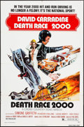 """Movie Posters:Science Fiction, Death Race 2000 (New World, 1975). One Sheet (27"""" X 41""""). ScienceFiction.. ..."""