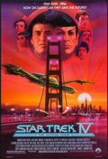 "Movie Posters:Science Fiction, Star Trek IV: The Voyage Home (Paramount, 1987). One Sheets (2)(27"" X 40"") SS Regular & Advance. Science Fiction.. ..."