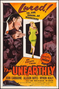 "The Unearthly (Republic, 1957). One Sheet (27"" X 41""). Science Fiction"