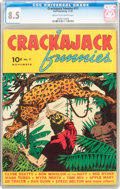 Golden Age (1938-1955):Adventure, Crackajack Funnies #17 (Dell, 1939) CGC VF+ 8.5 Cream to off-white pages....