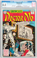 Silver Age (1956-1969):Superhero, Showcase #43 Doctor No (DC, 1963) CGC VF+ 8.5 White pages....