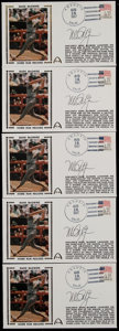 Baseball Collectibles:Others, Mark McGwire Signed First Day Covers Lot of 5. ...